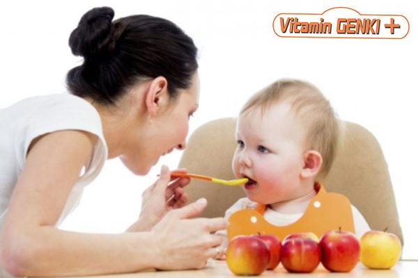 Tăng sức đề kháng cho trẻ nhỏ dưới 1 tuổi