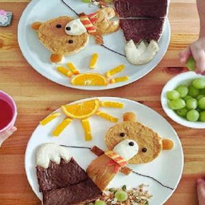 Món ăn Có Hình Ngộ Nghĩnh Sẽ Kích Thích Tính Tò Mò ở Trẻ
